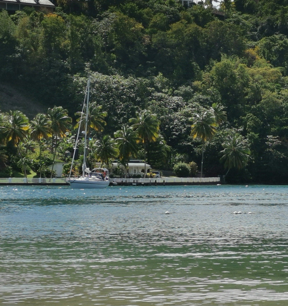H.Breed i Marigot Bay